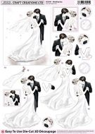Cc Die Cut 3d Wedding Day