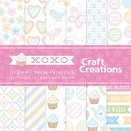 CC Creative Paper Pack XOXO