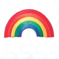 Embroidered Motif RAINBOW