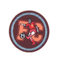 Embroidered Motif FC SOCCER