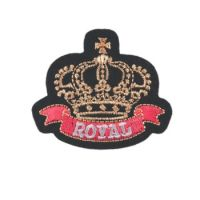 Embroidered Motif ROYAL CLUB