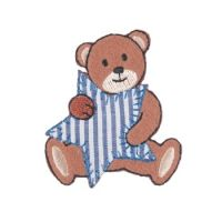 Embroidered Motif STAR BEAR
