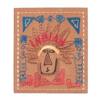 Embroidered Motif INDIAN CHEIF
