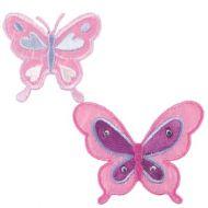 Embroidered Motif BUTTERFLIES