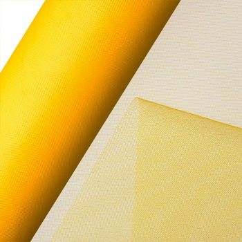 Tulle Net On Roll 15cm Gold