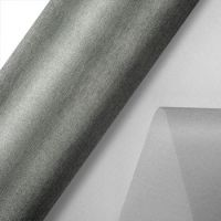 Organza Snow Sheer 29cm X25m Silver