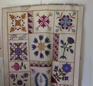 Cary Hall Sampler Quilt with Pauline Openneer