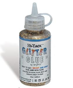 Hi-Tack Glitter Glue Gold 120ml