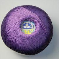 Petra no 3 Crochet Thread col 53837 Purple