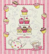 Anchor Cupcake Sampler Cross Stitch Kit