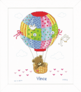 Vervaco Hot Air Balloon Cross Stitch Kit
