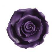 Edible Soft Rose Purple 50mm X10