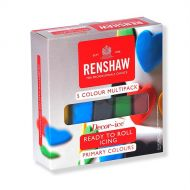 Regalice Primary Colours Sugarpaste