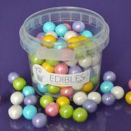 Purple Cupcake 10mm Rainbow Pearls
