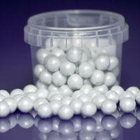 Purple Cupcake 10mm White Pearls