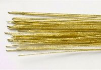 Florist Wire no 24 Gold