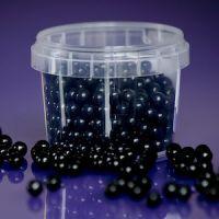 Purple Cupcakes 7mm Pearls - Black