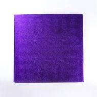 Purple 12 inch Square Cake Board