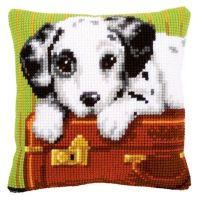 Cross Stitch Kit: Cushion: Dalmatian by Vervaco