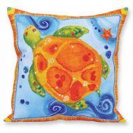 Diamond Painting Cushion Kit Turtle Journey