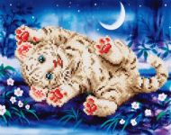 Diamond Painting Kit Baby Tiger Roly Poly