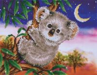 Diamond Painting Kit Koala Snack
