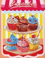Diamond Painting Kit Cup Cakes