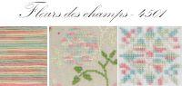 Dmc Coloris no 4501 Fleurs des champs