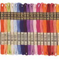 DMC Stranded Threads Listed by Colour