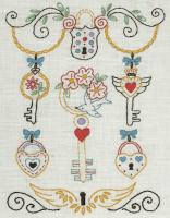Anchor Starter Embroidery Kit Keys