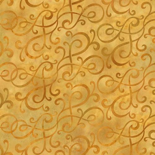 In The Beginning Fabrics Autumn Harvest Gold