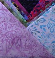 Batik Charm Pack Pink & Purple