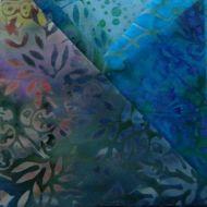 Batik Charm Pack Blues