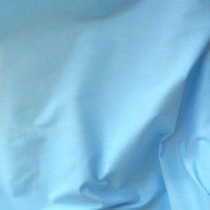 Plain Polycotton Fabric Pale Blue
