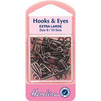 Hook & Eye size 9