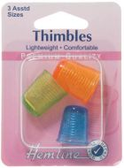 Thimble 3 Pack Assorted