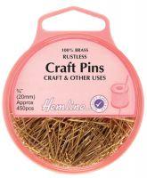 Craft Pins Brass