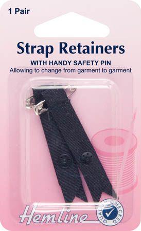 Strap Retainer Black