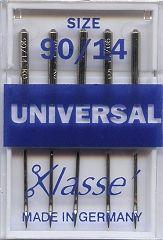 Klasse Sewing Machine Needles Universal 90/14