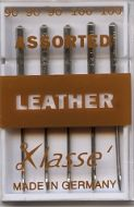 Klasse Sewing Machine Needles Leather Assorted