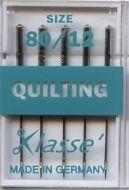 Klasse Sewing Machine Needles Quilting 80/12