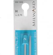 2.75mm/ 25cm Knitting Needles