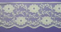 60mm Nylon Lace Cream lace ET233