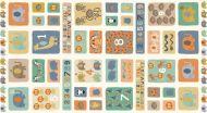 Makower Baby Jungle Panel