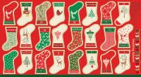 Makower Decorative Mini stockings