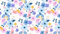 Makower Floral Splendour Large Floral