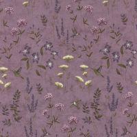 Moda Potting Shed Light Purple Floral