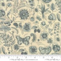 Moda Garden Notes Butterfly Scatter