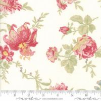 Moda Poetry Prints Large Floral Coated
