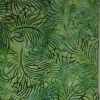 Moda Southern Exposure Batiks Green Leaves